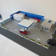 水素ガスステーション模型